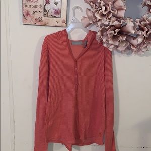 Liz Claiborne hooded Tee